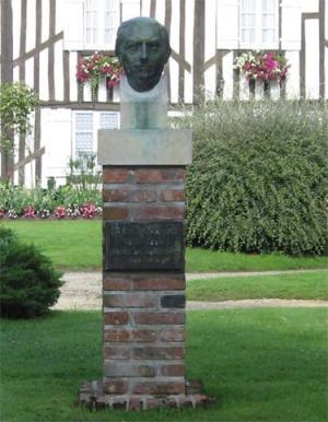 Buste d'Eugène Labiche